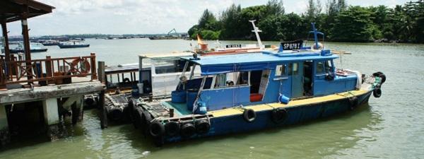 Ferry to Pulau Ubin