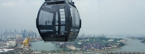 Cable Car Singapore à Harbour Front