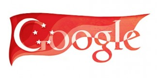 Doodle Google Independence day Singapore 2011
