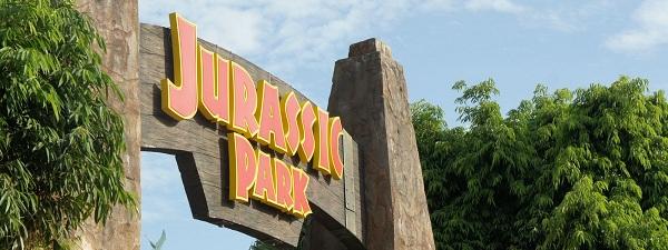 Jurassic Park à Universal Studios Singapour