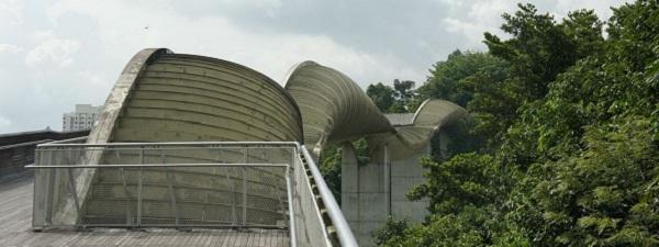 Le pont Henderson Waves à Singapour