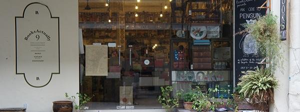 Books Actually, une librairie sympathique mais hors de prix