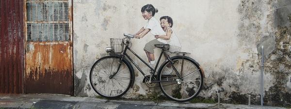 Street Art, Penang (Malaisie)