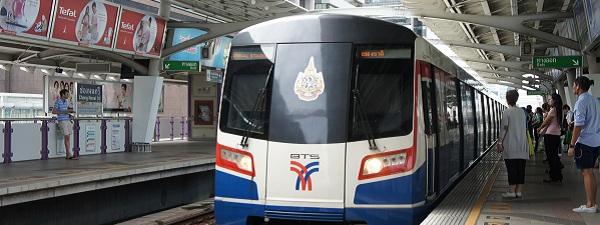 Rame de BTS, le métro aérien de Bangkok