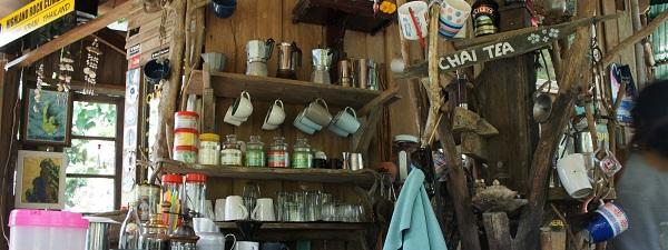 Le café Rasta de Railay