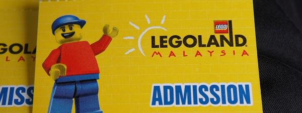 Billet d'entrée pour Legoland Malaisie
