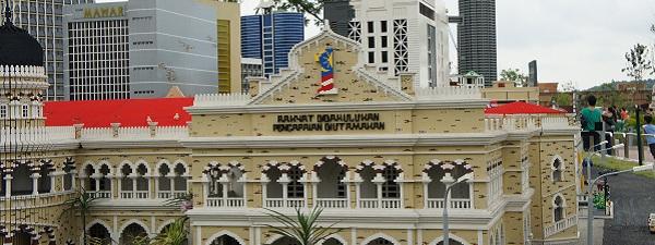 Kuala Lumpur en Lego (1 Malaysia)