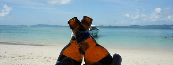 Plage à Phuket, la vie est vraiment trop dure
