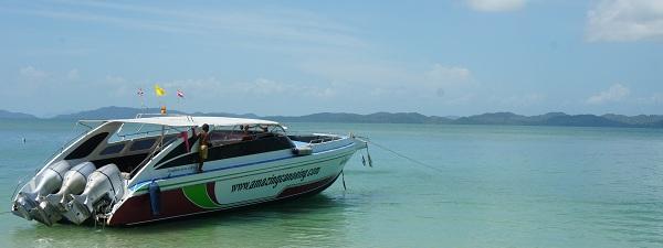 Speed Boat à Phuket, Thailande
