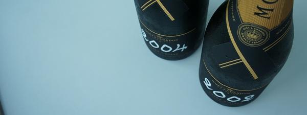 Bouteilles de Champagne Moët