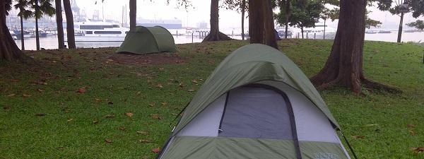 Le camping à la mode Singapourienne