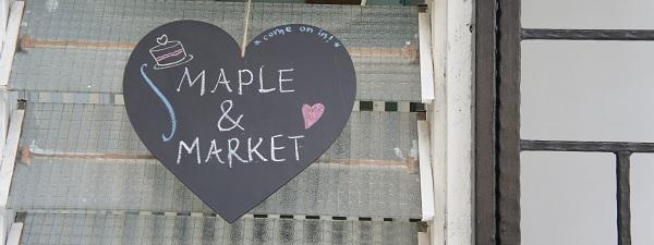 L'arrière boutique de Maple & Market