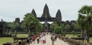 Les hordes de touristes à Angkor Vat
