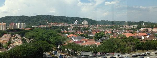 Vue Panoramique sur Kuala Lumpur depuis Camp5
