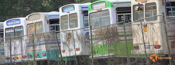 Envie de prendre le bus pour s'échapper de Singapour... (Photo tripinasia.com)
