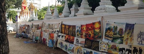 Dans les rues de Vientiane (Laos)