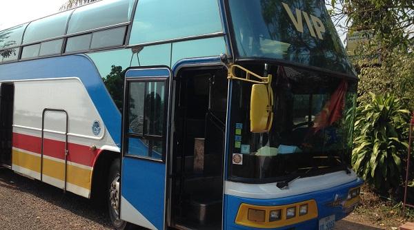 Exemple de bus VIP au Laos
