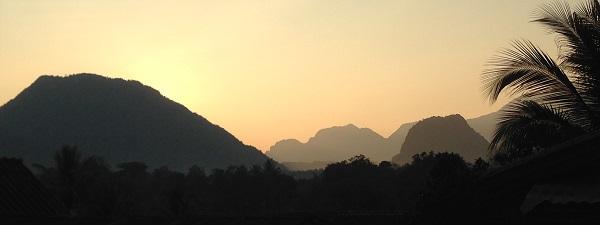 Les paysages sont fantastiques au Laos