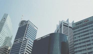 Le quartier des affaires de Singapour