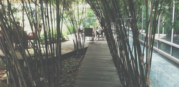 Terrasse à La Ristrettos (Novena)