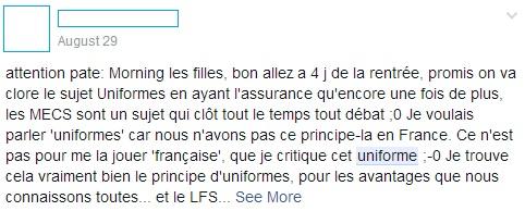 L'actualité du LFS, la suite...