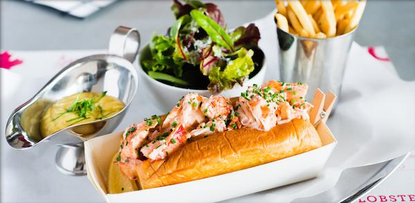Lobster Roll à Pince & Pints - Copyright Pince & Pints