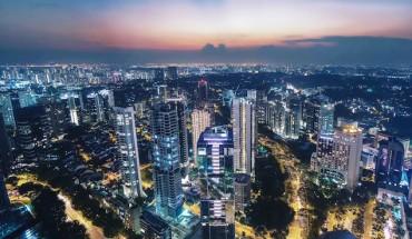 Vidéo de Singapour en timelapse