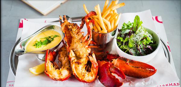 Whole lobster (Grillé) à Pince & Pints - Copyright Pince & Pints
