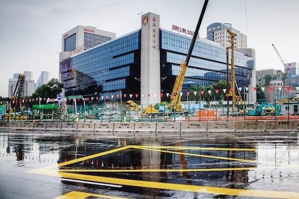Sim Lim Square à Singapour