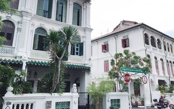 Shophouses à Singapour