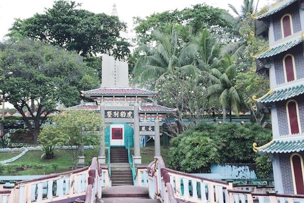 Le parc d'Haw Par Villa à Singapour