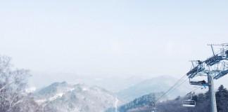 Faire du Ski en Corée
