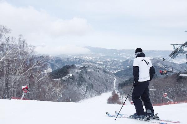 Faire du ski à Yongpyong