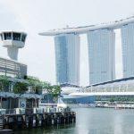 Marina bay sands à Singapour