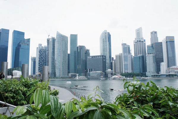 Le centre financier de Singapour