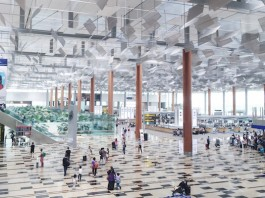 Aéroport de Changi à Singapour