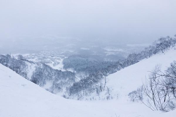 Domaine skiable à Niseko (Japon)