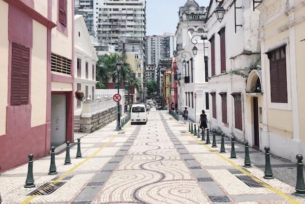 Les ruelles de Macao