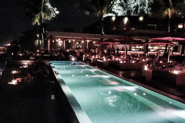 Ku De Ta Bali by night