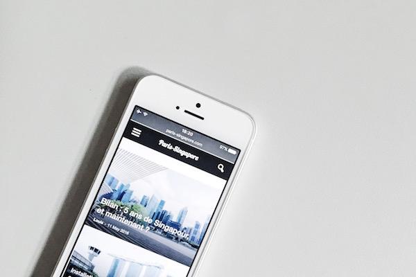 Les applications iPhone et Android a Singapour