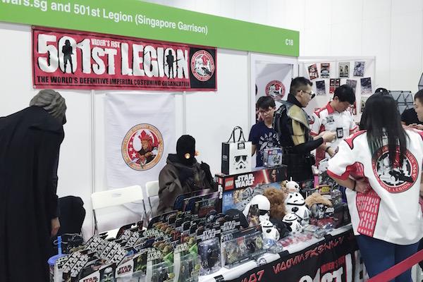 501st Legion Singapour