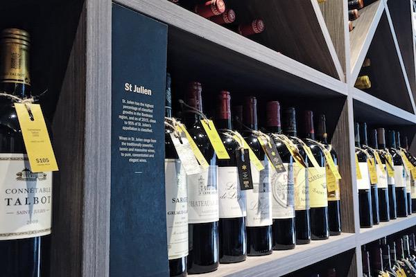 Acheter bouteille de vins a Singapour