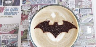 Batman Cafe Latte also can