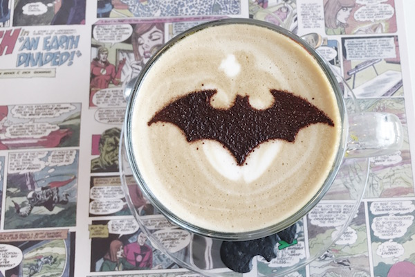 Batman Cafe Latte also can