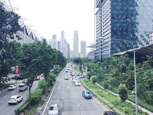 Singapour trafic