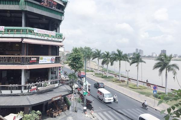 Fleuve Phnom Penh