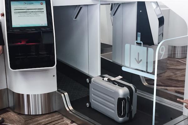 Enregistrement automatique des bagages