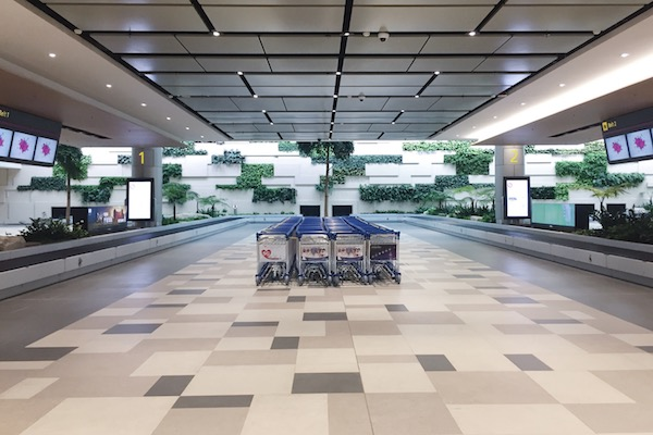 Recuperation des bagages Changi T4