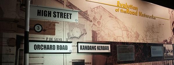 Découvrir l'histoire du nom des rues de Singapour