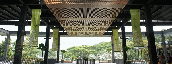 Hortpark un jardin artificiel au coeur de singapour for Au jardin singapore wedding